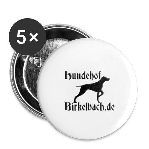 hundehoflogoklein - Buttons klein 25 mm (5er Pack)
