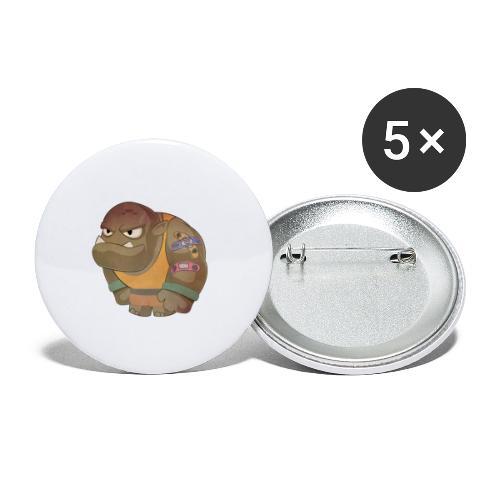Brabucon00001 - Paquete de 5 chapas pequeñas (25 mm)