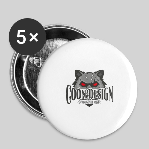 CoonDesign - Buttons klein 25 mm (5er Pack)