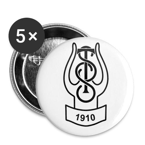 TSS 2016 rund, utan krans - Liten pin 25 mm (5-er pakke)
