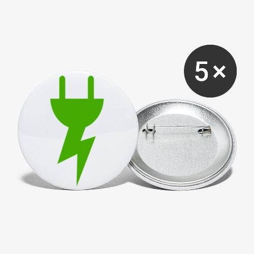 Green Energy - Buttons klein 25 mm (5-pack)