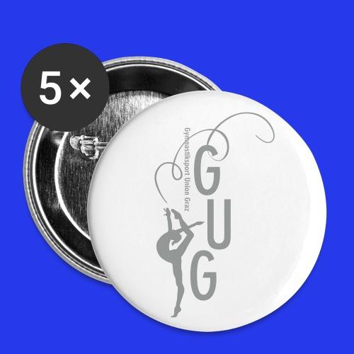 GUG logo - Buttons klein 25 mm (5er Pack)