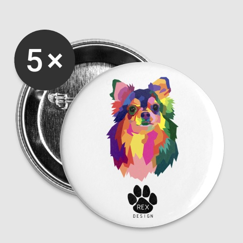 Oh Chihuahua - Buttons small 1''/25 mm (5-pack)