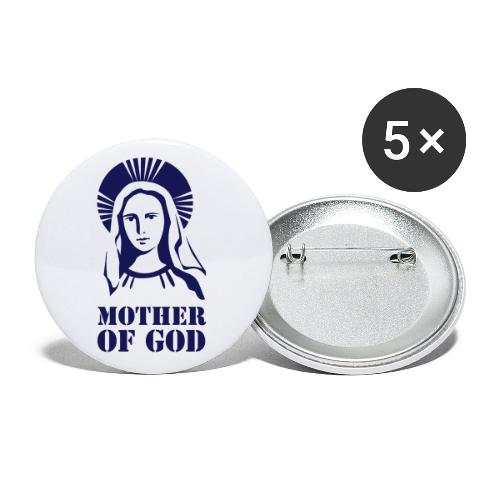 MOTHER OF GOD - Buttons small 1''/25 mm (5-pack)