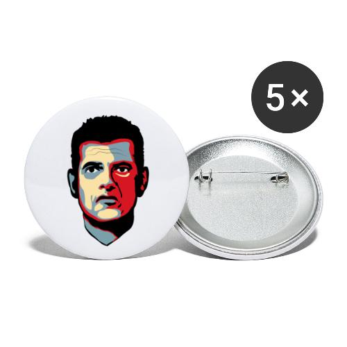 Corona DK 2020 - Buttons/Badges lille, 25 mm (5-pack)