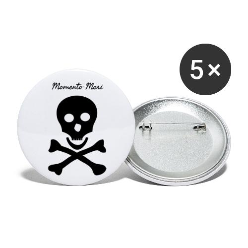 Momento Mori - Buttons small 1''/25 mm (5-pack)