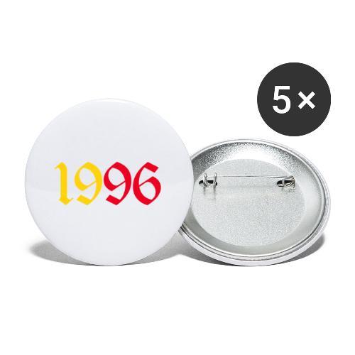 year1996yr - Confezione da 5 spille piccole (25 mm)