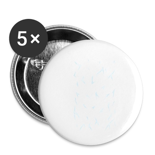 Fusion - Buttons small 1''/25 mm (5-pack)