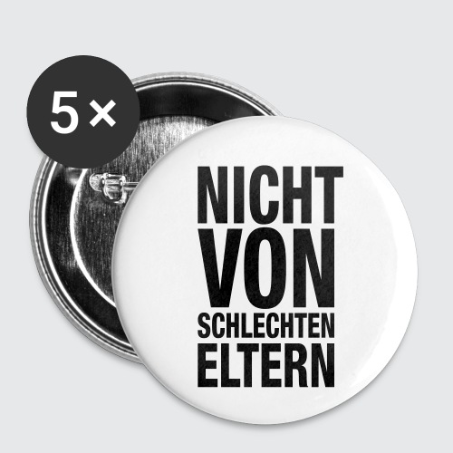 eltern - Buttons klein 25 mm (5er Pack)