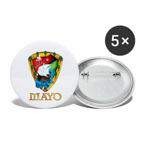 Mayo Shield - Buttons small 1''/25 mm (5-pack)
