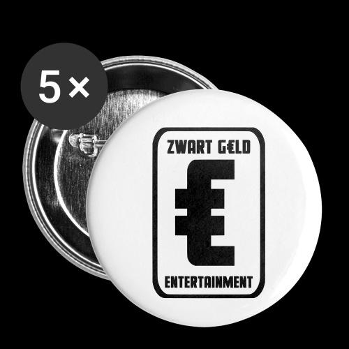 ZwartGeld Logo Sweater - Buttons klein 25 mm (5-pack)