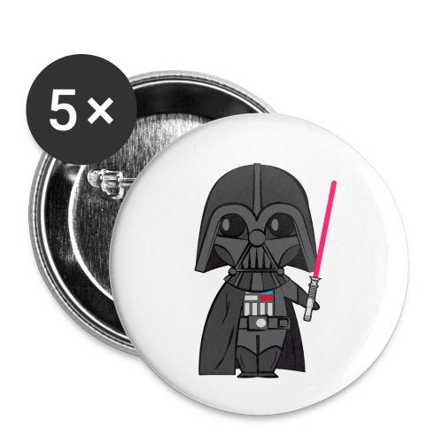 Darth Vader - Lot de 5 petits badges (25 mm)