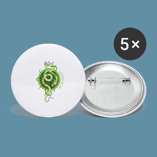Jormungand logo png - Confezione da 5 spille piccole (25 mm)