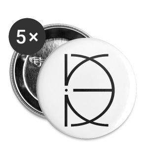 CRONE WHITE - Buttons klein 25 mm