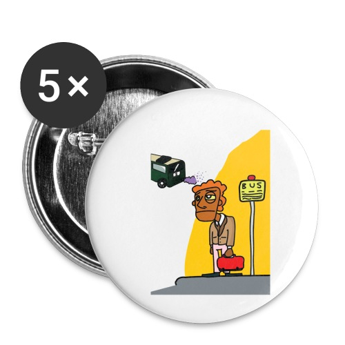 Bus stop - Buttons klein 25 mm (5-pack)