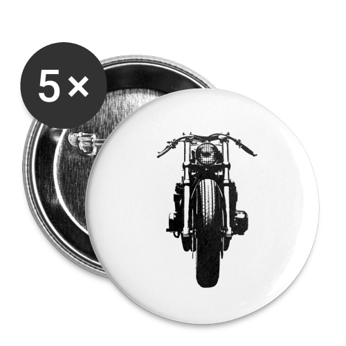 Motorcycle Front - Buttons small 1''/25 mm (5-pack)