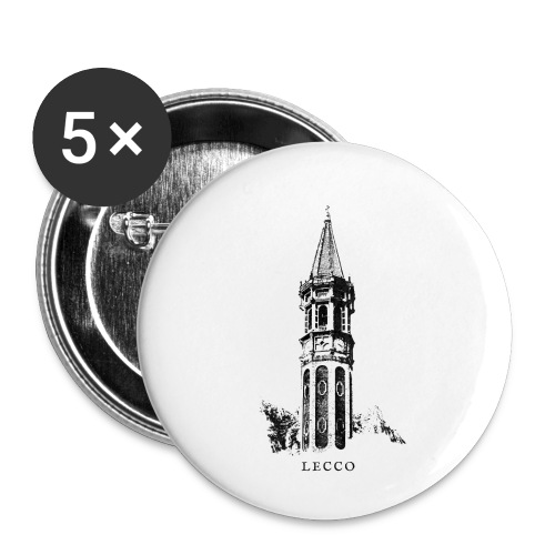 GoClassic | Matitone - Confezione da 5 spille piccole (25 mm)