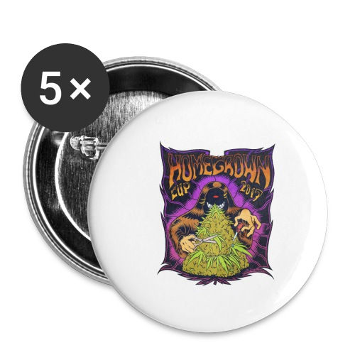 HomeGrown Cup 2017 - Buttons klein 25 mm (5-pack)