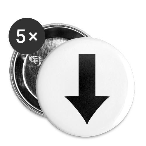 Arrow - Små knappar 25 mm (5-pack)