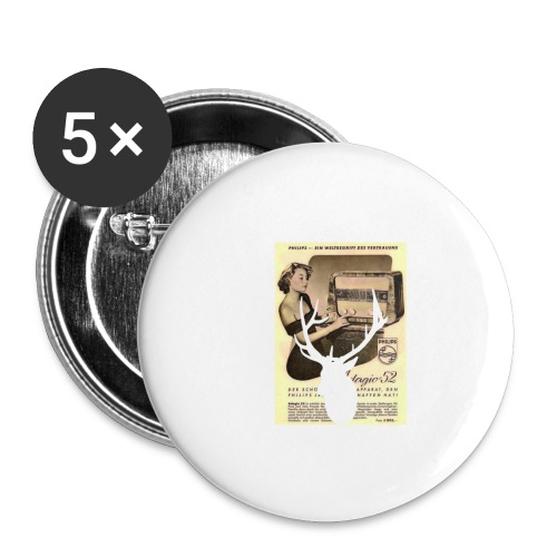 Stag - Buttons small 1''/25 mm (5-pack)