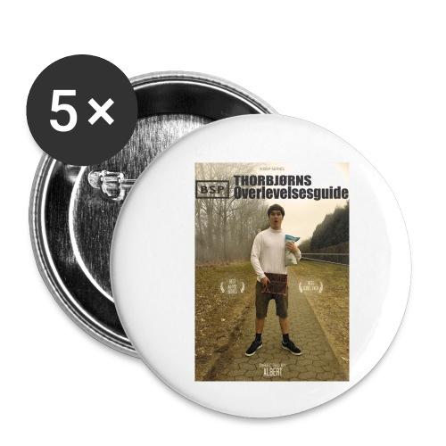 BSP: THORBJØRNS OVER... - Buttons/Badges lille, 25 mm (5-pack)