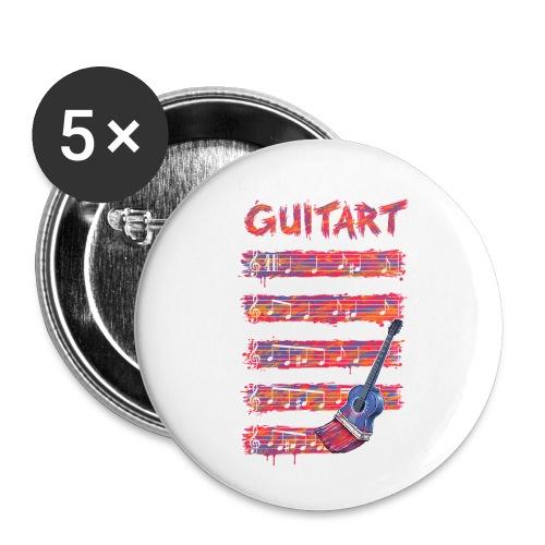GuitArt - Buttons small 1''/25 mm (5-pack)