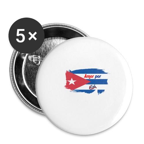 Amor Por Cuba - Confezione da 5 spille piccole (25 mm)