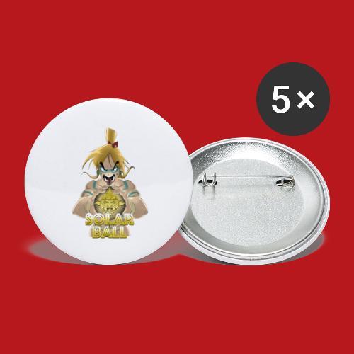 Ricco - Lot de 5 petits badges (25 mm)
