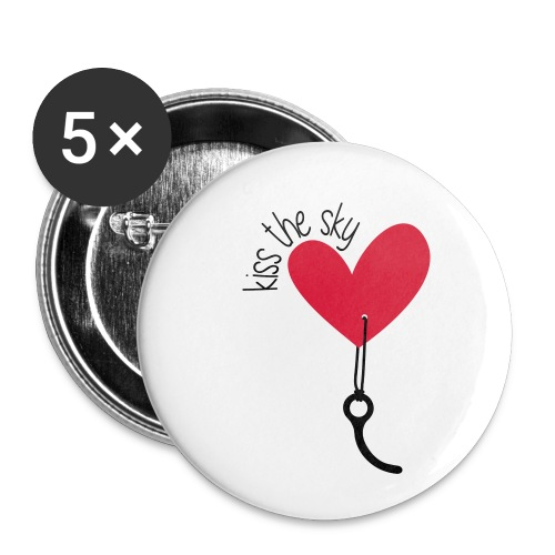 Kiss the Sky 2.0 - Buttons klein 25 mm