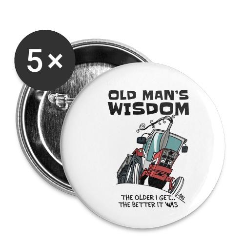 0499 oldmanswisdom IH553 - Buttons klein 25 mm