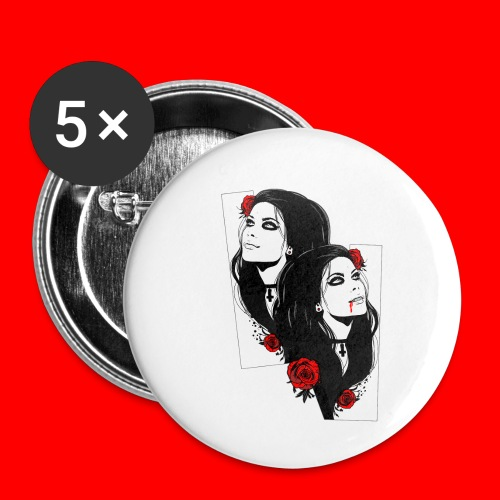 vampires - Buttons small 1''/25 mm (5-pack)