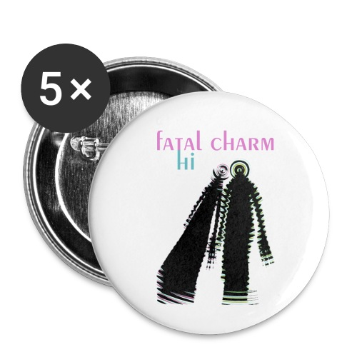 fatal charm - hi album cover art - Buttons small 1''/25 mm (5-pack)