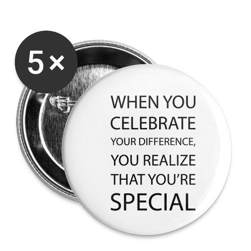 You're special - Buttons/Badges lille, 25 mm (5-pack)