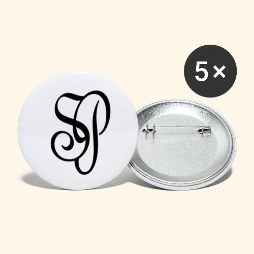 STONE PAINT - Paquete de 5 chapas pequeñas (25 mm)
