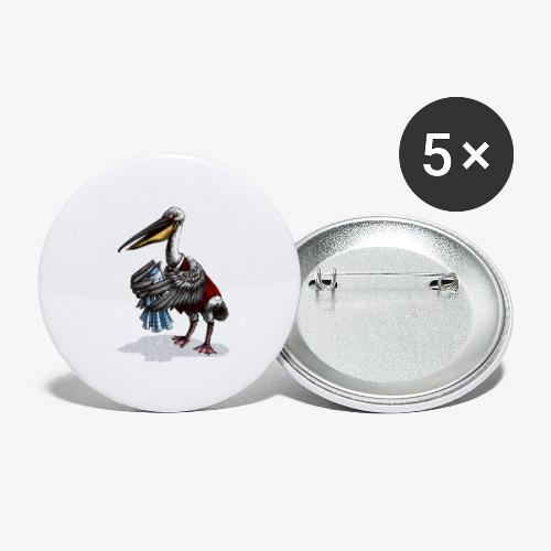 Pelican Publican - Buttons small 1''/25 mm (5-pack)