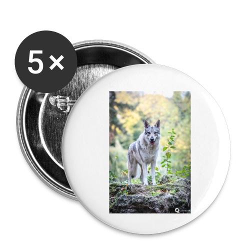 La Tanière des Chiens-Loups - Badge petit 25 mm