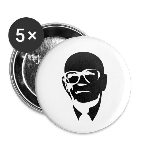 UKK Urko Kekkonen - Rintamerkit pienet 25 mm (5kpl pakkauksessa)