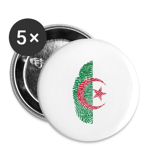 Algerien - Buttons klein 25 mm (5er Pack)