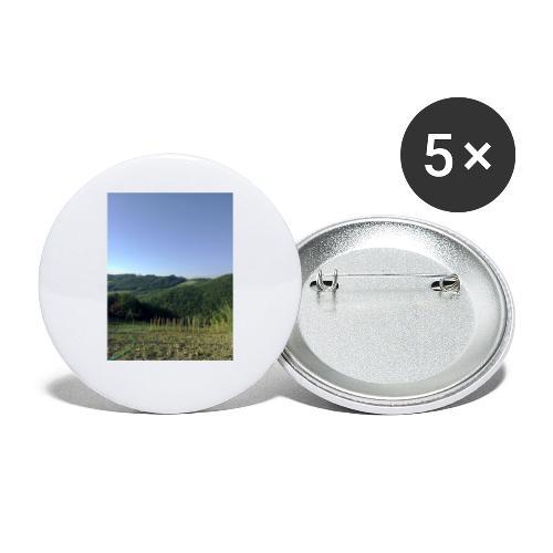 Panorama - Confezione da 5 spille piccole (25 mm)