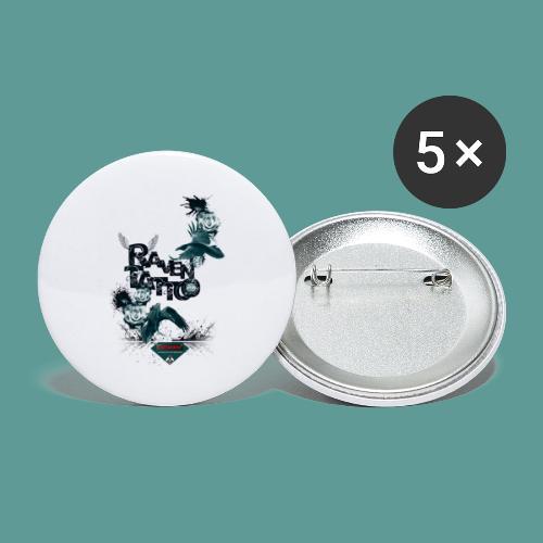 MUTAGENE RAVEN TATTOO II - Lot de 5 petits badges (25 mm)