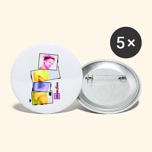 Untitled 3 explose - Lot de 5 petits badges (25 mm)