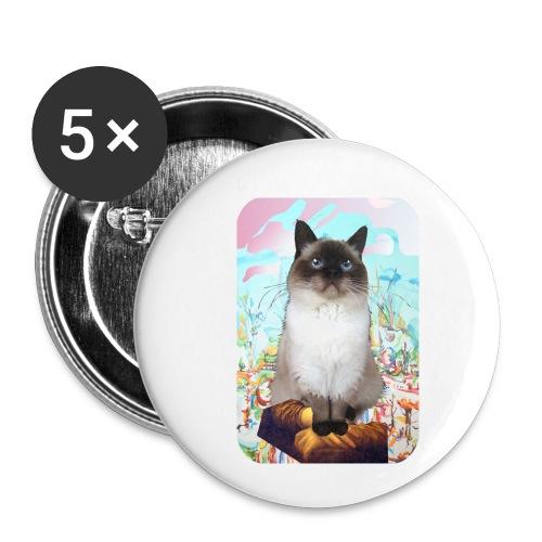 Billy Stargazing - Buttons klein 25 mm (5-pack)