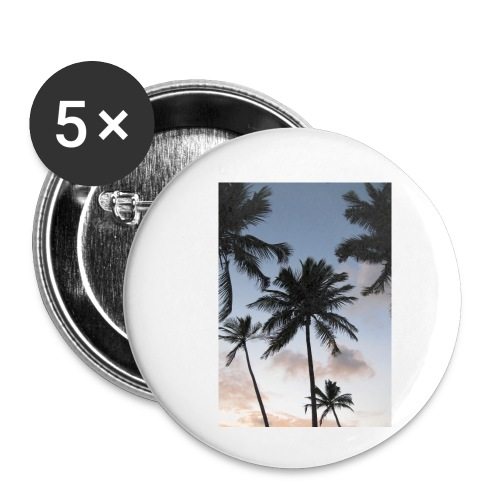 PALMTREES DOMINICAN REP. - Buttons klein 25 mm (5-pack)