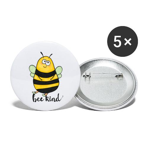 Bee kid - Buttons small 1''/25 mm (5-pack)