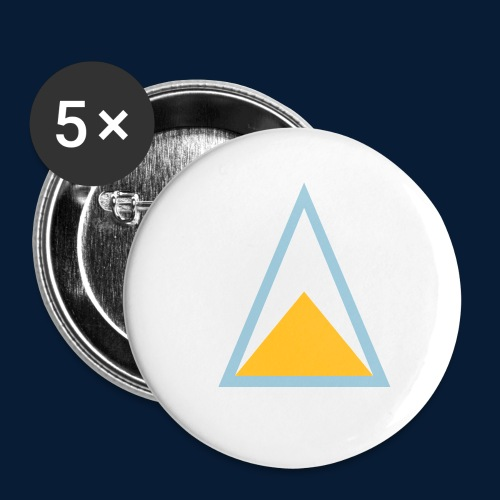 St. Lucia - Buttons klein 25 mm (5er Pack)