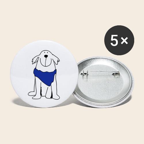 Retriever mignon - Lot de 5 petits badges (25 mm)
