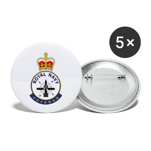 RN Vet ET - Buttons small 1''/25 mm (5-pack)