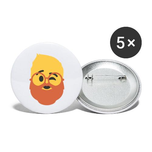 Dougsteins Wink by Dougsteins - Buttons small 1''/25 mm (5-pack)