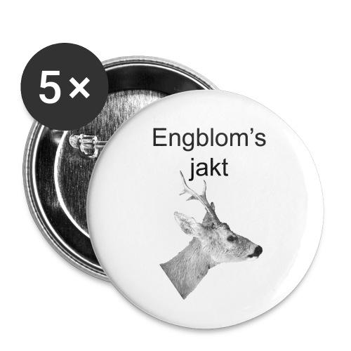 Officiell logo by Engbloms jakt - Små knappar 25 mm (5-pack)