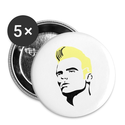 vi2 - Buttons klein 25 mm (5-pack)